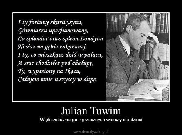 Julian Tuwim Demotywatorypl