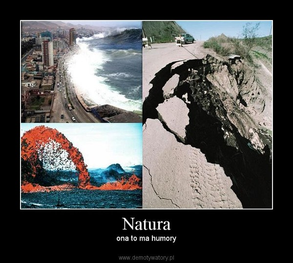 Natura – ona to ma humory
