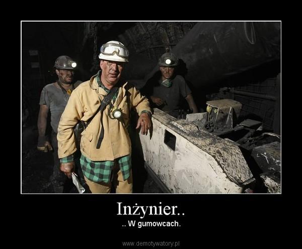 Inżynier.. – .. W gumowcach.