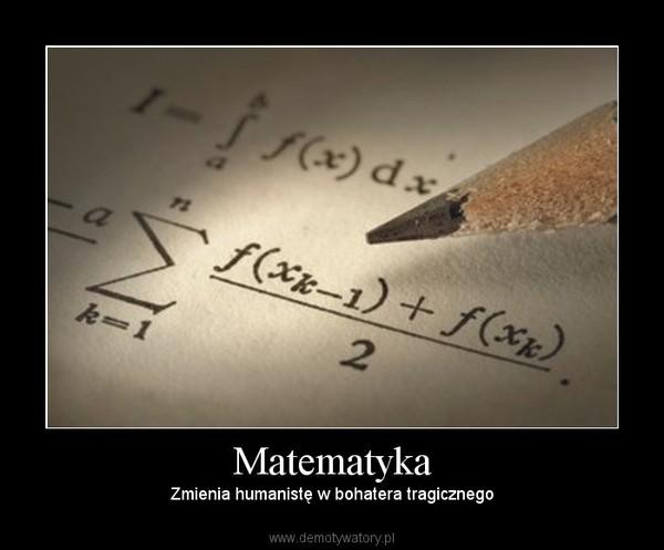 Matematyka Demotywatorypl