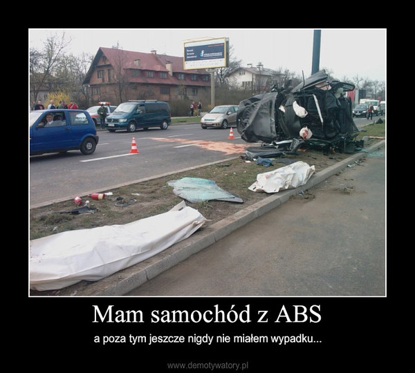 Mam samochód z ABS