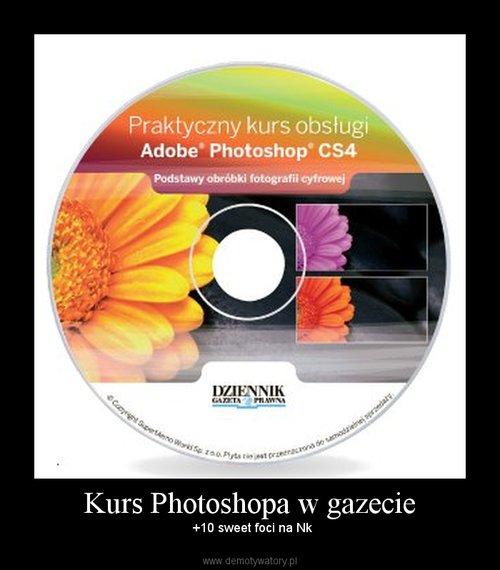 Kurs Photoshopa w gazecie