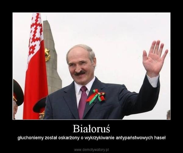 Białoruś – głuchoniemy został oskarżony o wykrzykiwanie antypaństwowych haseł