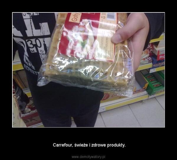 Hipermarket –  Carrefour, świeże i zdrowe produkty.