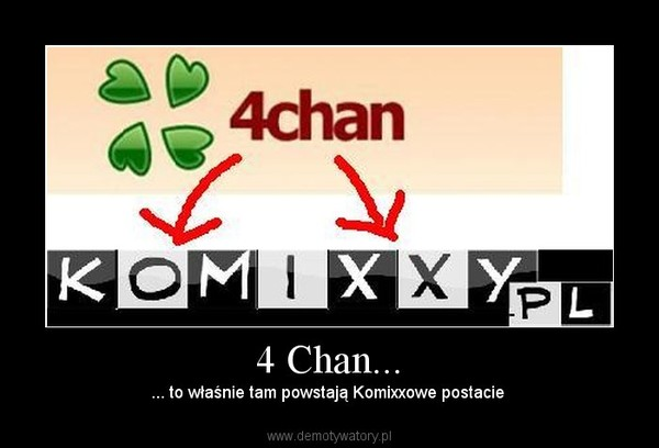 4 Chan... – ... to właśnie tam powstają Komixxowe postacie