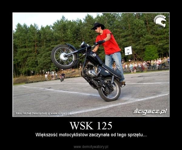 WSK 125 – Większość motocyklistów zaczynała od tego sprzętu...