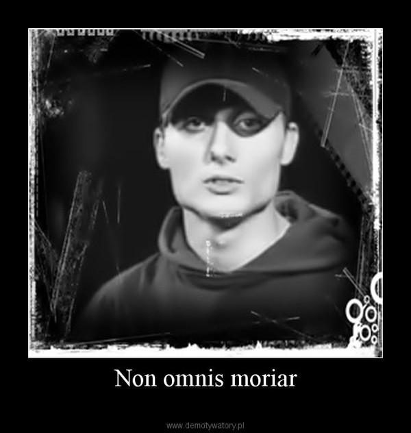 Non omnis moriar –