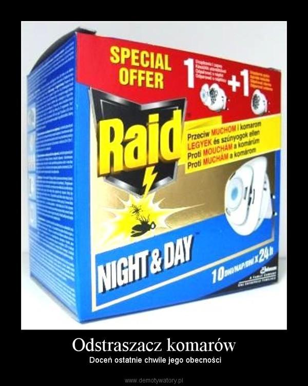 Odstraszacz komarów – Doceń ostatnie chwile jego obecności