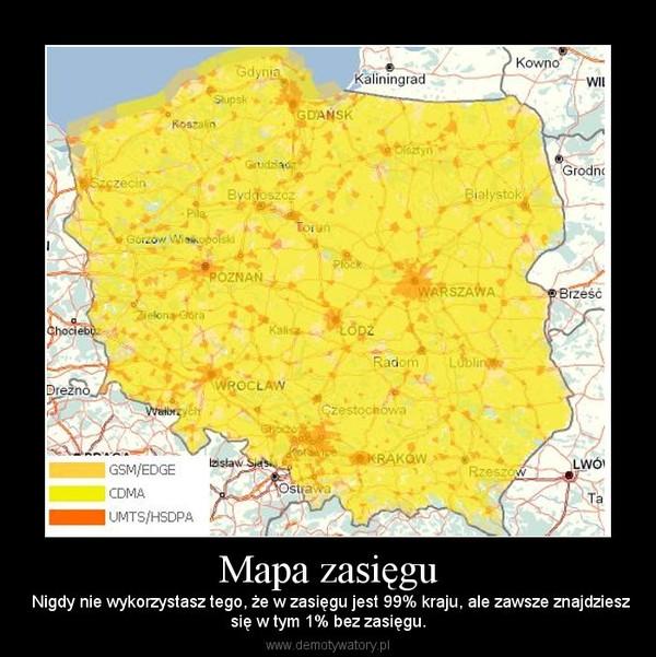 Mapa Zasiegu Demotywatory Pl