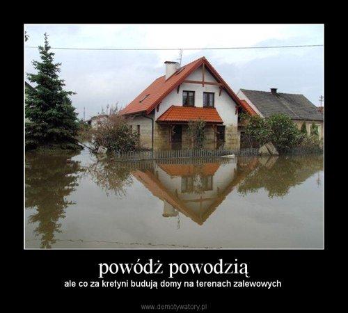 powódż powodzią