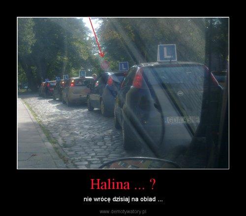Halina ... ?