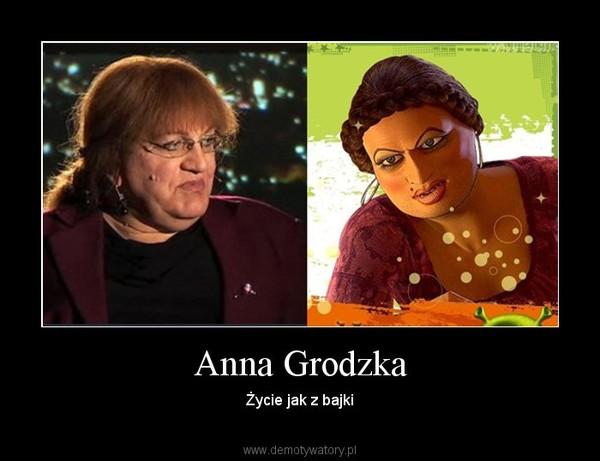 Anna Grodzka – Życie jak z bajki