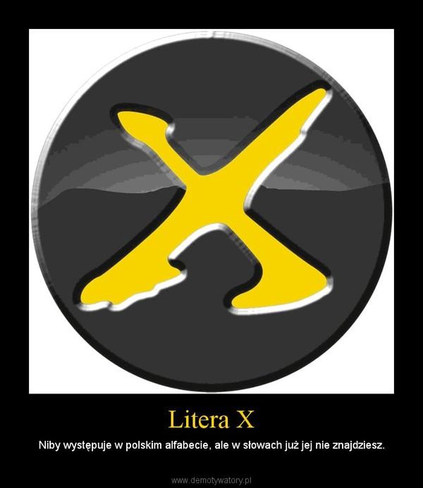 Litera X Demotywatorypl