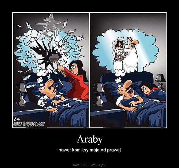Araby – nawet komiksy mają od prawej