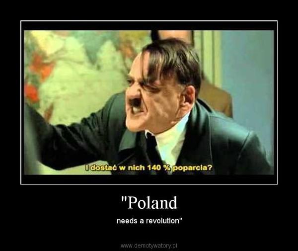 """""""Poland – needs a revolution"""""""