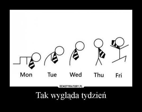 Tak wygląda tydzień –