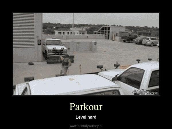 Parkour – Level hard