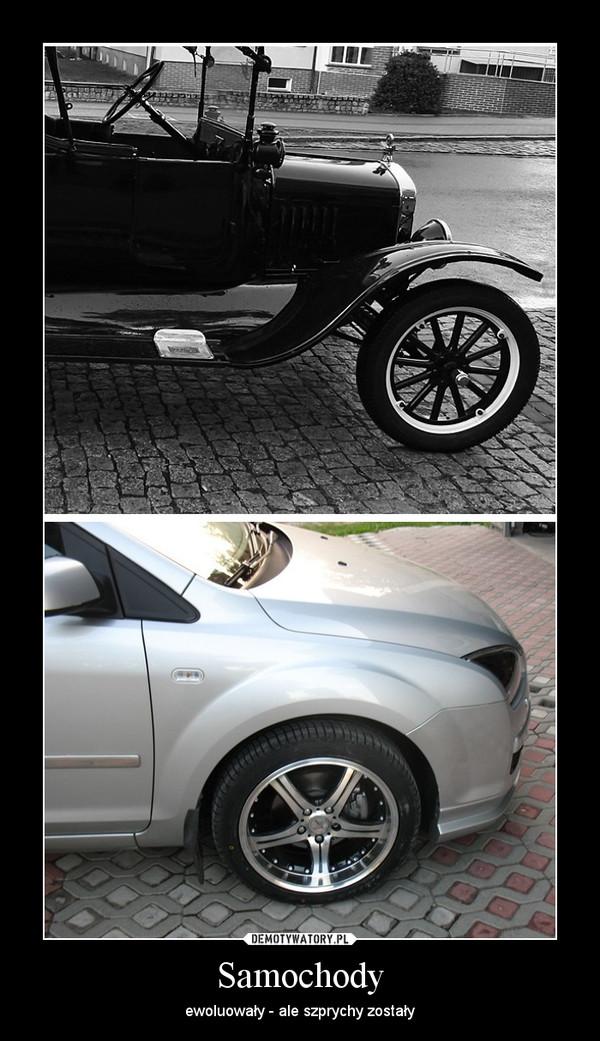 Samochody – ewoluowały - ale szprychy zostały