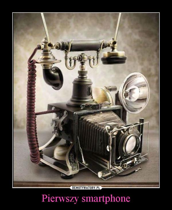 Pierwszy smartphone –