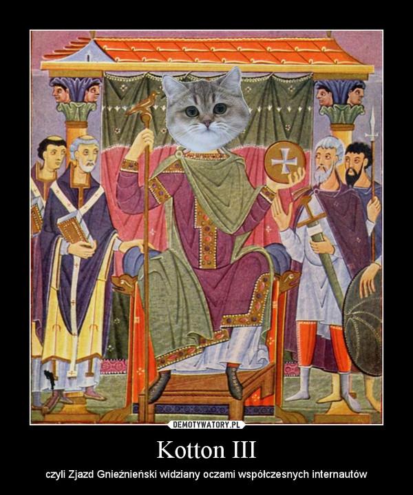 Kotton III – czyli Zjazd Gnieźnieński widziany oczami współczesnych internautów