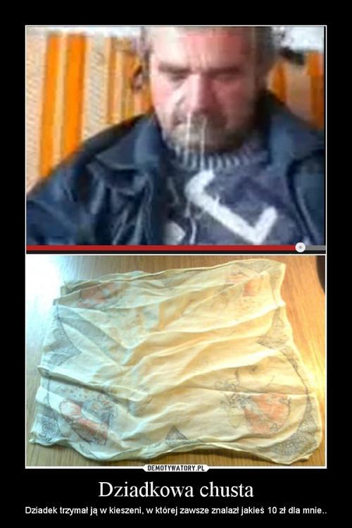 Dziadkowa chusta