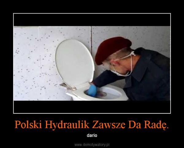 Polski Hydraulik Zawsze Da Radę. – dario