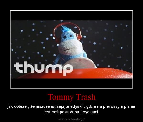 Tommy Trash – jak dobrze , że jeszcze istnieją teledyski , gdzie na pierwszym planie jest coś poza dupą i cyckami.