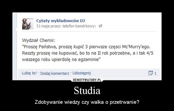 Studia Demotywatorypl