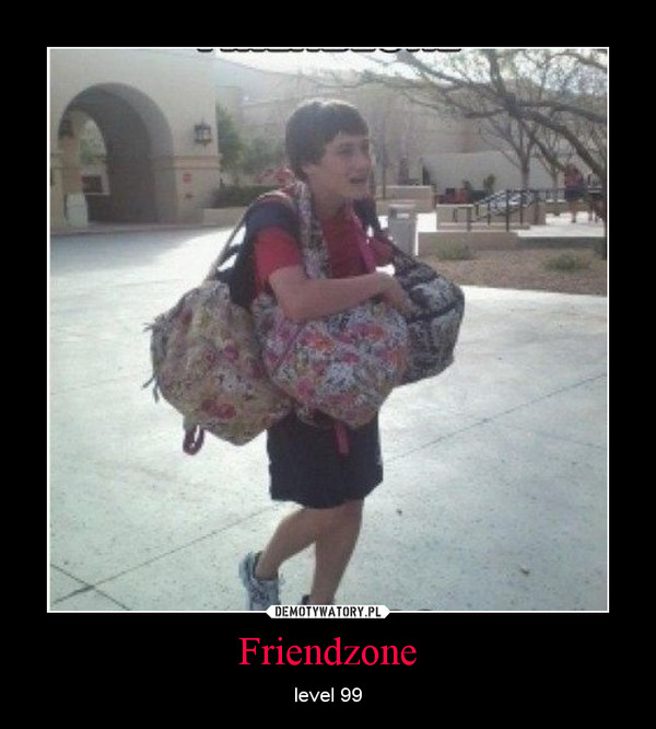 Friendzone Demotywatorypl
