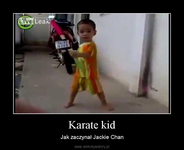 Karate kid – Jak zaczynał Jackie Chan