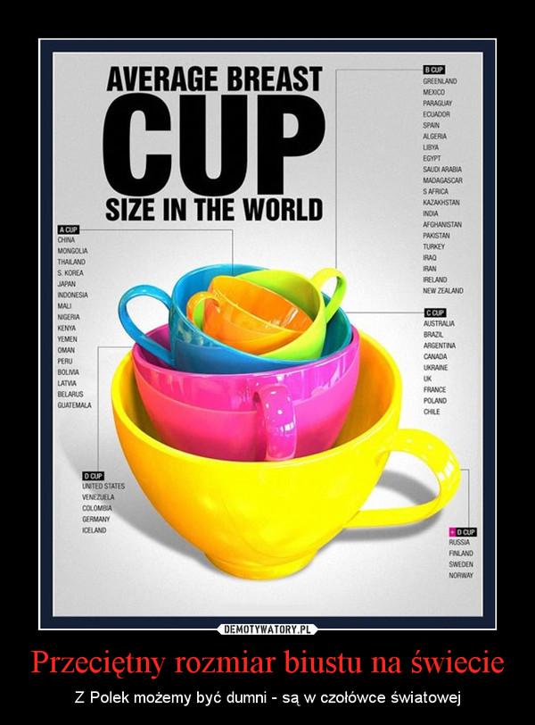 7eb7946821904e Przeciętny rozmiar biustu na świecie – Z Polek możemy być dumni - są w  czołówce światowej