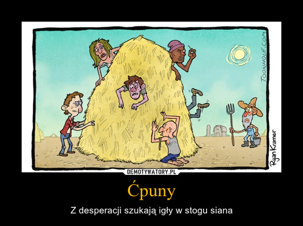 Ćpuny – Z desperacji szukają igły w stogu siana