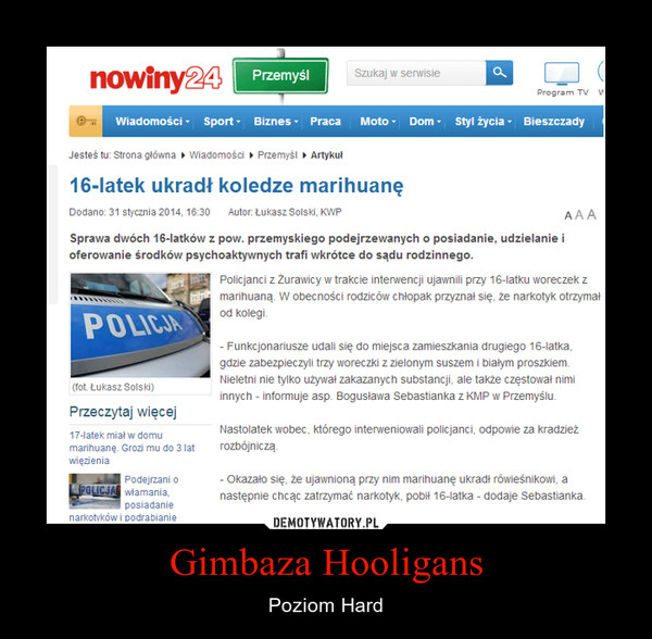 Gimbaza Hooligans – Poziom Hard