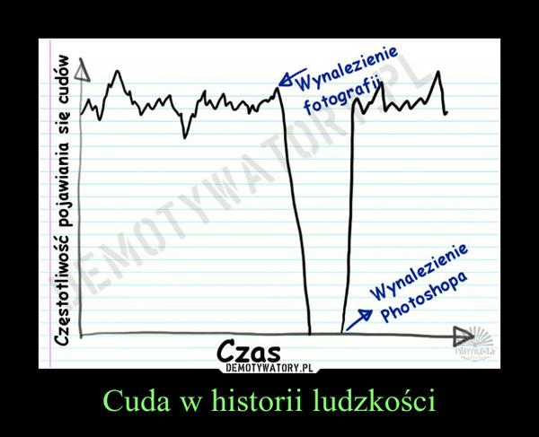 Cuda w historii ludzkości –