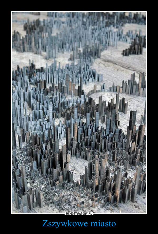 Zszywkowe miasto –