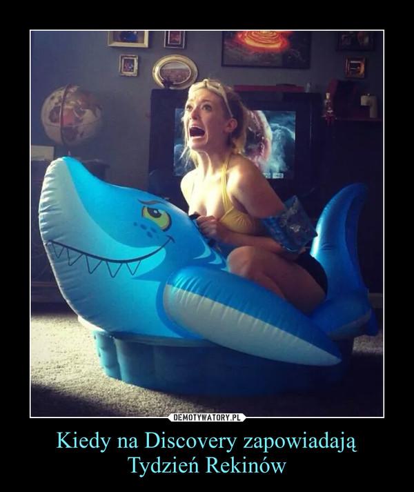 Kiedy na Discovery zapowiadają Tydzień Rekinów –
