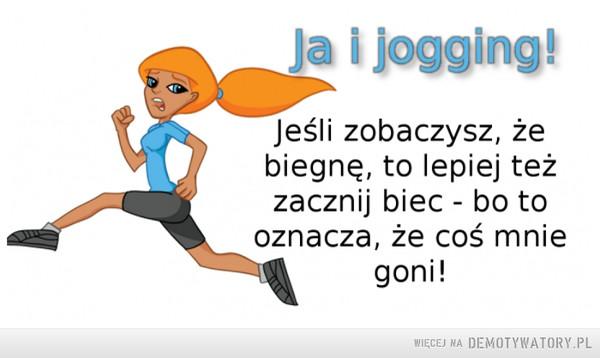 Ja i jogging –