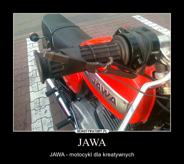 JAWA – JAWA - motocykl dla kreatywnych
