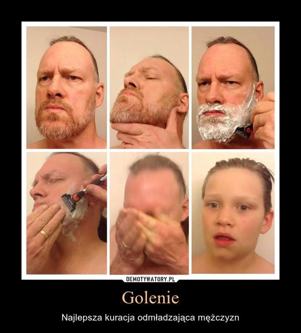Golenie – Najlepsza kuracja odmładzająca mężczyzn
