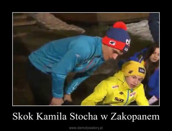 Skok Kamila Stocha w Zakopanem –