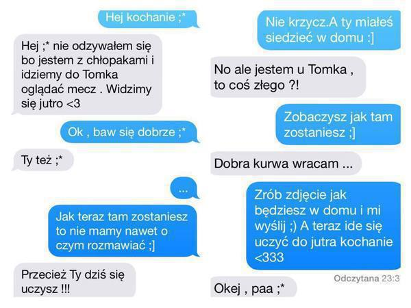 SMS DLA FACETA