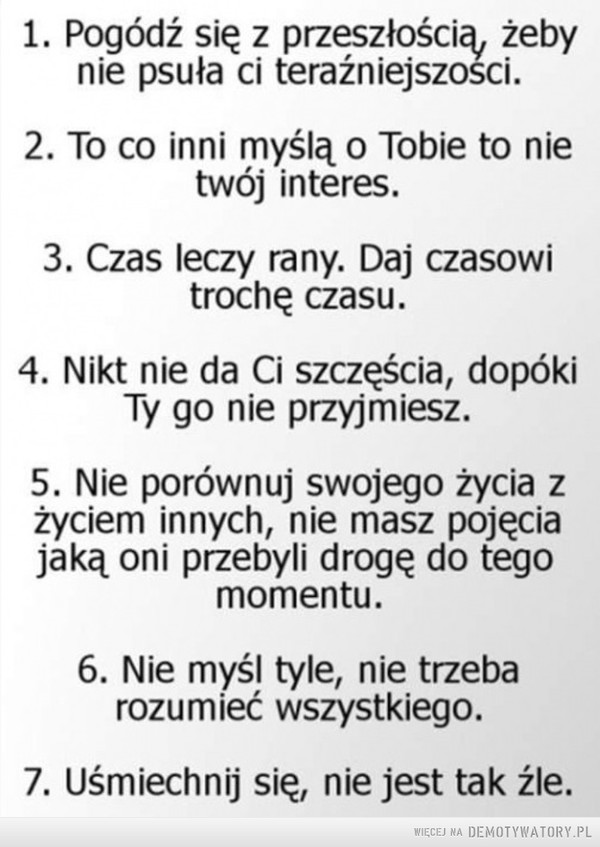 7 cennych porad –