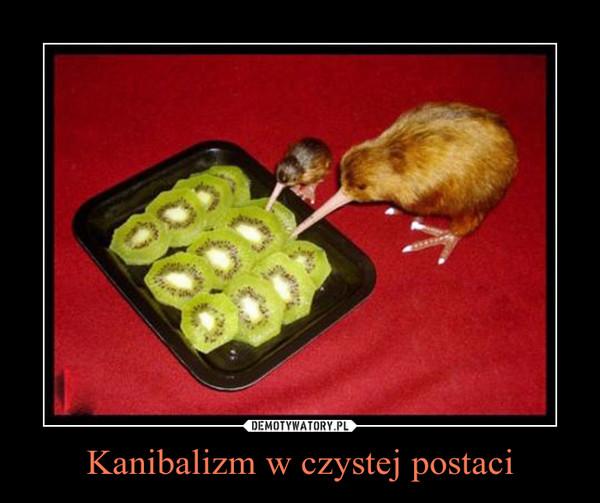 Kanibalizm w czystej postaci –