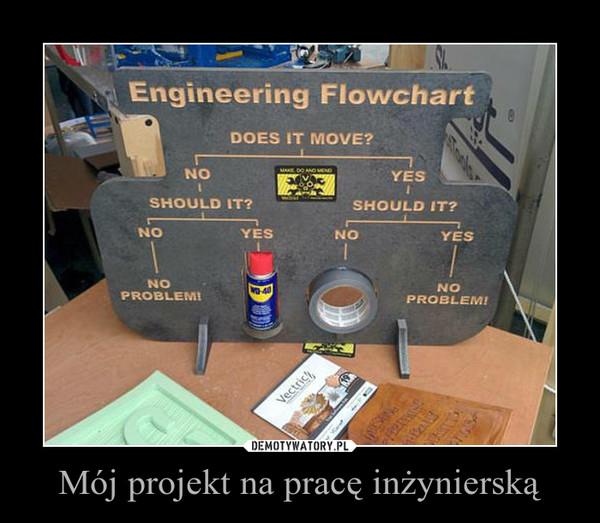 Mój projekt na pracę inżynierską –