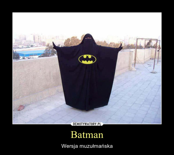 Batman – Wersja muzułmańska