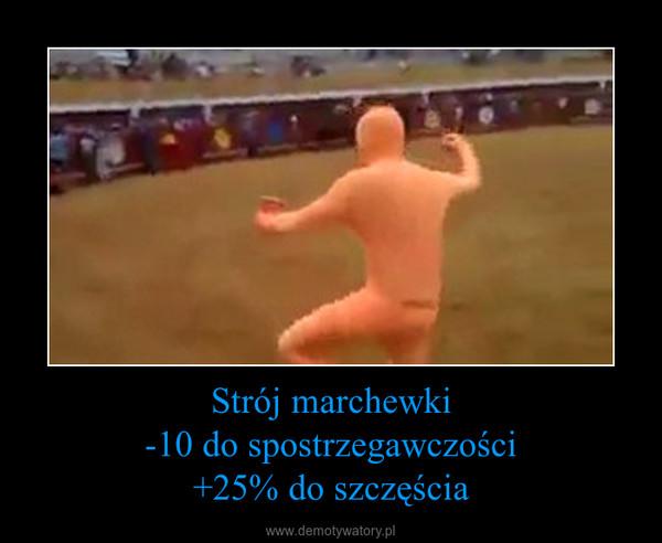 Strój marchewki-10 do spostrzegawczości+25% do szczęścia –