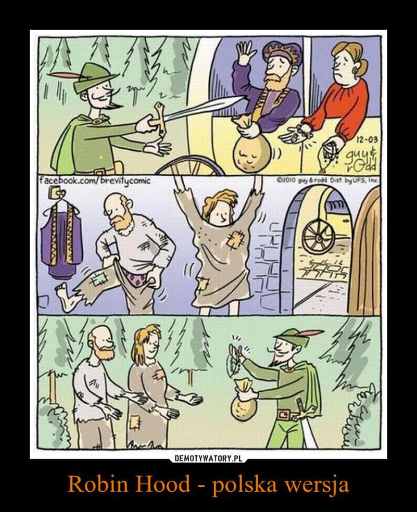 Robin Hood - polska wersja –