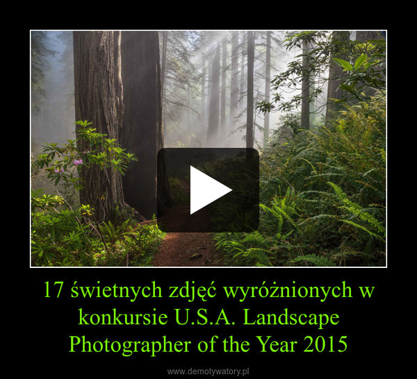 17 świetnych zdjęć wyróżnionych w konkursie U.S.A. Landscape Photographer of the Year 2015 –
