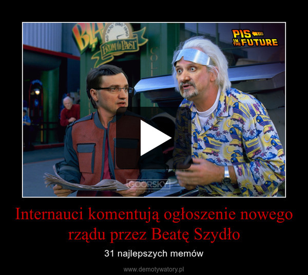 Internauci komentują ogłoszenie nowego rządu przez Beatę Szydło – 31 najlepszych memów