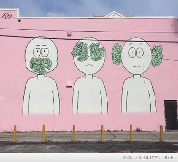 O otaczającym świecie mural. –